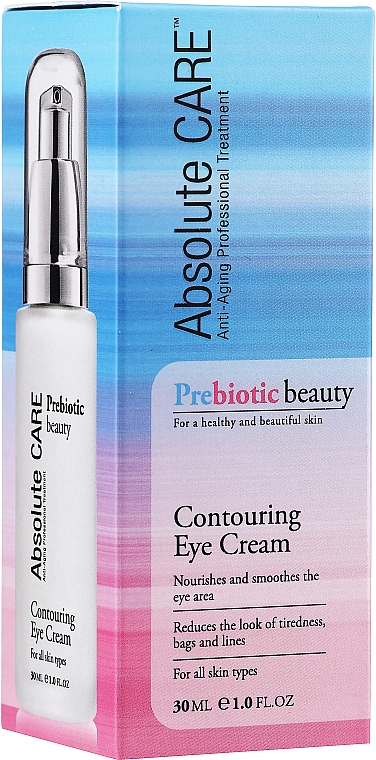 Crème à l'huile d'amande douce contour des yeux - Absolute Care Prebiotic Beauty Contouring Eye Cream