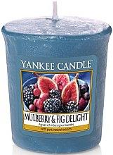 Parfums et Produits cosmétiques Bougie parfumée votive Figues et mûres gourmandes - Yankee Candle Mulberry and Fig Delight Votive