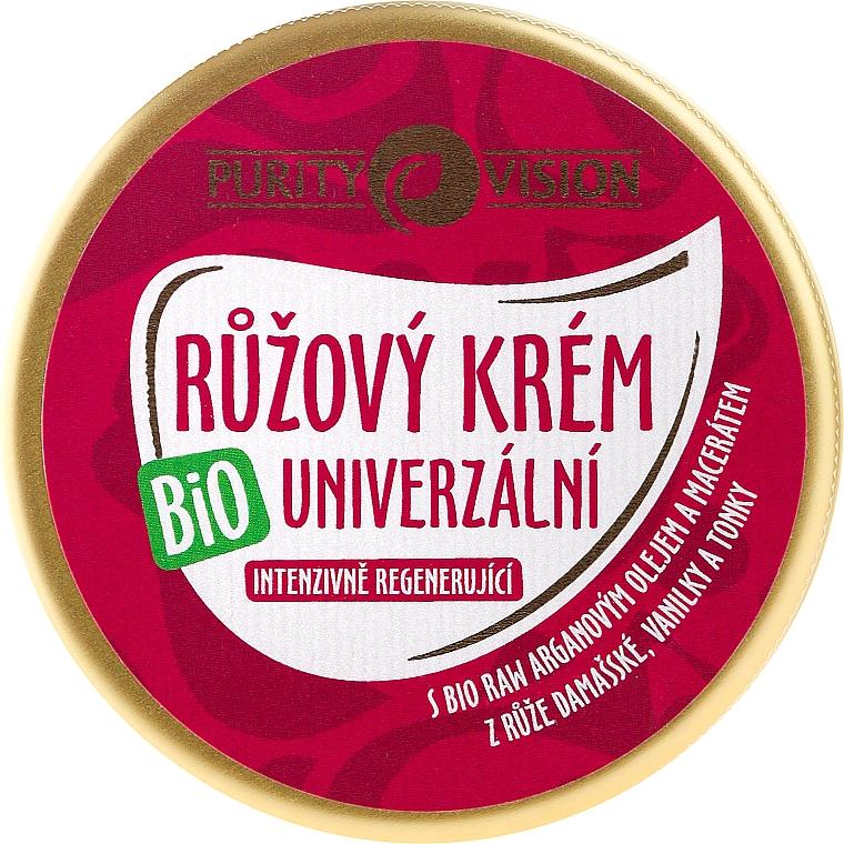 Crème à l'huile d'argan pour visage - Purity Vision Rose Cream — Photo N1