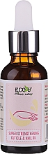 Parfums et Produits cosmétiques Huile fortifiante pour ongles et cuticules - Eco U Super Strengthening Cuticle & Nail Oil