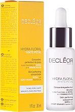 Parfums et Produits cosmétiques Concentré perfecteur de peau pour visage - Decleor Hydra Floral White Petal Skin Perfecting Concentrate