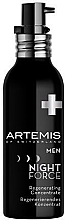 Parfums et Produits cosmétiques Concentré à l'huile de lavande pour visage - Artemis of Switzerland Men Night Force Regenerating Concentrate