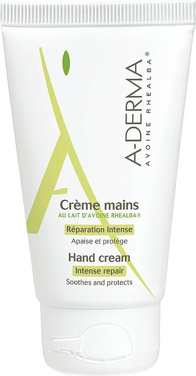 Crème apaisante au lait d'avoine Rhealba pour les mains - A-Derma Intensiv Repair Handcreme — Photo N1