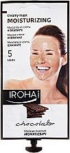 Parfums et Produits cosmétiques Masque-crème au cacao et beurre de karité pour visage - Iroha Nature Moisturizing Chocolate Creamy Mask