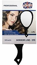 Parfums et Produits cosmétiques Miroir avec poignée, 195, noir - Ronney Professional Mirror Line