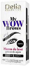Parfums et Produits cosmétiques Henné sourcils - Delia My Wow Brows