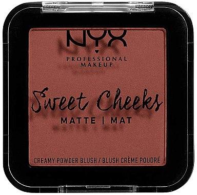 Blush crème poudré mat - NYX Professional Makeup Sweet Cheeks Matte Blush