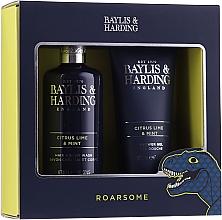 Parfums et Produits cosmétiques Coffret cadeau - Baylis & Harding Men's Citrus Lime & Mint 2 Piece Set(hair/body/wash/300ml+sh/gel/200ml)