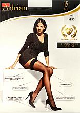 Parfums et Produits cosmétiques Bas autofixants pour femme, Oplot, 15 Den, nero - Adrian