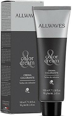 Crème colorante pour cheveux - Allwaves Cream Color