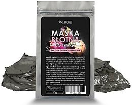 Parfums et Produits cosmétiques Masque de boue à la spiruline et huile de figue de Barbarie pour visage - E-fiore Mud Face Mask With Spirulina, Opuntia Oil And HA Acid