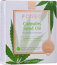Parfums et Produits cosmétiques Masque à l'huile de graines de chanvre pour visage - Foreo UFO Cannabis Seed Oil Mask