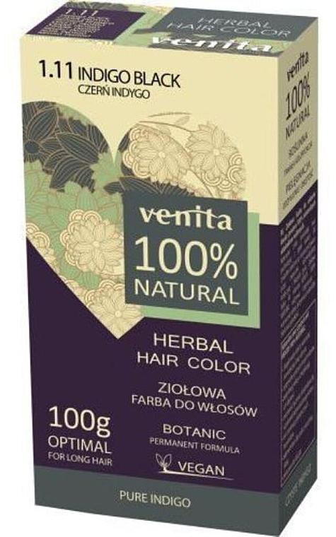 Coloration à base de plantes naturelles pour cheveux - Venita Natural Herbal Hair Color