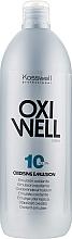 Parfums et Produits cosmétiques Emultion oxydante 3% - Kosswell Professional Oxidizing Emulsion Oxiwell 3% 10vol