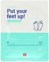 Parfums et Produits cosmétiques Masque au beurre de cacao pour pieds - Leaders Essential Wonders Put Your Feet Up! Mask