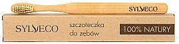 Parfums et Produits cosmétiques Brosse à dents en bambou naturelle - Sylveco