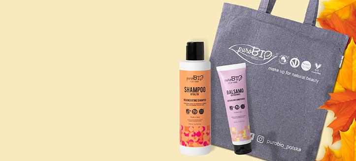 Lors de l'achat de produits PuroBio Cosmetics pour un montant supérieur à 18 €, vous recevez un sac cabas en cadeau
