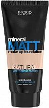 Parfums et Produits cosmétiques Fond de teint matifiant - Ingrid Cosmetics Mineral Matt Make Up Foundation