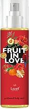 Parfums et Produits cosmétiques Lazell Fruit In Love - Brume parfumée pour corps