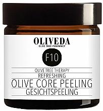 Parfums et Produits cosmétiques Gommage rafraîchissant aux olives pour visage - Oliveda F10 Refreshing Olive Core Peeling