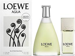 Parfums et Produits cosmétiques Loewe Agua de Loewe - Coffret eau de toilette (eau de toilette 150ml + eau de toilette 30ml)
