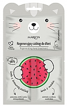 Parfums et Produits cosmétiques Masque-gants à la pastèque pour les mains - Marion Funny Animals Regenerating Hand Treatment