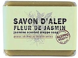 Parfums et Produits cosmétiques Savon d'Alep pour visage et corps, Jasmin - Tade Aleppo Jasmine Scented Soap