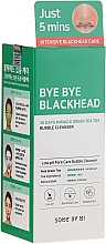 Parfums et Produits cosmétiques Masque à bulles nettoyant à l'extrait de thé vert pour visage - Some By Mi Blackhead 30Days Miracle Green Tea Tox Bubble Cleanser