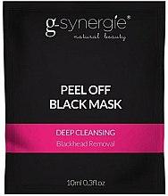 Parfums et Produits cosmétiques Masque peel-off nettoyant en profondeur (sachet) - G-Synergie Peel Off Deep Cleansing Black Mask