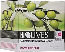 Parfums et Produits cosmétiques Crème de jour à l'huile d'olive - Nature of Agiva Anti-Wrinkle Day Cream for Normal to Combination Skin