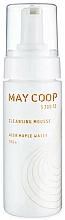 Parfums et Produits cosmétiques Mousse nettoyante à l'extrait d'eau d'érable pour visage - May Coop Cleansing Mousse Acer Maple Water 100%