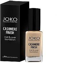 Parfums et Produits cosmétiques Fond de teint - Joko Cashmere Finish Mat & Cover Foundation