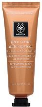 Parfums et Produits cosmétiques Gommage à l'abricot pour visage - Apivita Face Scrub With Apricot