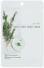 Parfums et Produits cosmétiques Masque tissu à l'arbre à thé pour visage - Eunyul Daily Care Mask Sheet Tea Tree
