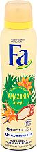 Parfums et Produits cosmétiques Déodorant spray sans sel d'aluminium à l'extrait de murumuru - Fa Amazonia Spirit Deo Spray