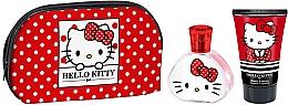 Parfums et Produits cosmétiques Koto Parfums Hello Kitty Baby - Set (eau de toilette/50ml + lotion corporelle/50ml + trousse de toilette)