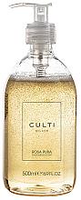 Parfums et Produits cosmétiques Culti Rosa Pura - Savon liquide à l'arôme de rose et patchouli pour mains et corps