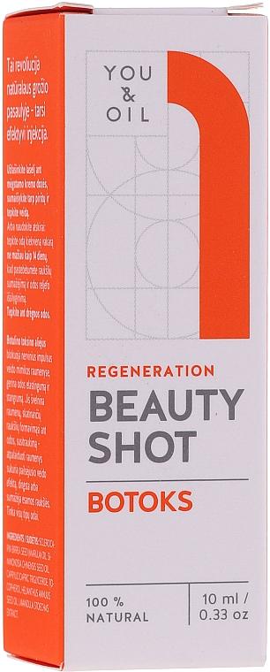 Sérum pour visage - You & Oil Beauty Shot Botoks Oil / Regeneration Face Serum — Photo N1