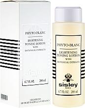 Parfums et Produits cosmétiques Lotion tonique éclaircissante à l'extrait de plantes - Sisley Phyto-Blanc Lightening Toning Lotion