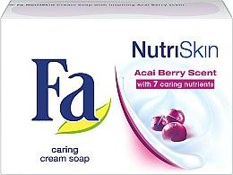Parfums et Produits cosmétiques Savon crémeux aux baies d'açai - Fa NutriSkin Acai Berry Bar Soap