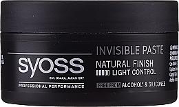 Parfums et Produits cosmétiques Pâte coiffante - Syoss Invisible Paste Light Control