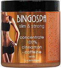 Parfums et Produits cosmétiques Concentré à la cannelle, caféine et L-carnitine pour corps - BingoSpa Concentrate 100% Cinnamon Caffeine-L-Carnitine