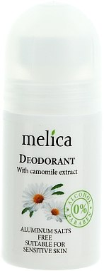 Déodorant roll-on à l'extrait de camomille - Melica Organic With Camomille Extract Deodorant