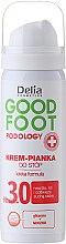 Parfums et Produits cosmétiques Crème-mousse à la glycérine et urée pour pieds - Delia Cosmetics Good Foot Podology Nr 3.0