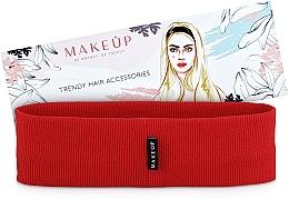 Parfums et Produits cosmétiques Bandeau pour cheveux, rouge, Be Beauty - MakeUp