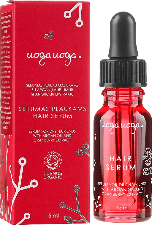 Sérum à l'huile d'argan pour cheveux - Uoga Uoga Rejuvenating & Protective Serum — Photo N1