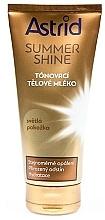 Parfums et Produits cosmétiques Lotion corporelle au beurre de graines de cacao pour peau claire - Astrid Summer Shine