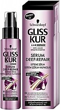 Sérum réparateur extrême pour cheveux stressés - Schwarzkopf Gliss Kur Deep Repair Amino-Protein Serum — Photo N1