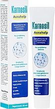 Parfums et Produits cosmétiques Gel spécialisé aux ions d'argent et carnosine pour visage - Deep Pharma Karnosil Acnohelp