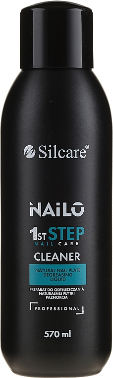 Dégraissant pour ongles - Silcare Nailo 1st Step Nail Cleaner